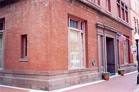 [photo, Allegany County Museum, Lila Building, 81 Baltimore St., Cumberland, Maryland]