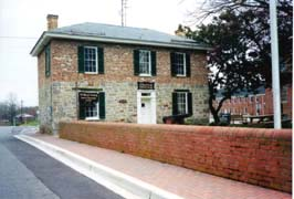 [photo, Old Jail Museum (maintained by St. Mary's County Historical Society), Court House Drive, Leonardtown, Maryland]