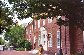 [photo, Legislative Services Building, 90 State Circle, Annapolis, Maryland]