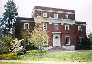 [photo, First Hall of Records Building on St. John's College campus, Annapolis, Maryland]