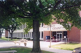 [photo, Allegany County Office Building, 701 Kelly Road, Cumberland, Maryland]