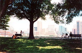 [photo, Federal Hill Park, Baltimore, Maryland]