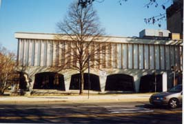 [photo, Council Office Building (north corner), 100 Maryland Ave., Rockville, Maryland]