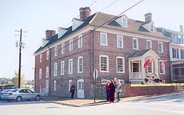 [photo, Custom House, 101 South Water St., Chestertown, Maryland]