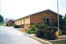 [Town Hall, 1034 South Carroll St., Hampstead, Maryland]