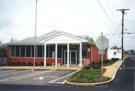 [photo, Former Town Office, 41675 Park Ave., Leonardtown, Maryland]