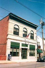 [photo, Town Hall, 110 South Main St., Mount Airy, Maryland]