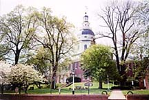 [photo, State House (view from East St.), Annapolis, Maryland]